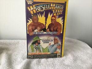 WWF WWE WCW Wrestling Wrestlemania VIII 8  Great  Price See. Our huge Range