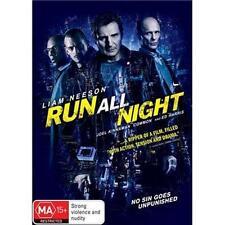 RUN ALL NIGHT Liam Neeson (DVD, 2015) NEW