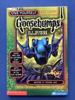 RL Stine Give yourself Goosebumps special edition #8 Weekend At Poison Lake!
