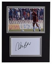Franco Baresi Signed Autograph 10x8 photo display A.C. Milan Football AFTAL COA