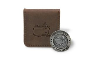 2021 Masters Ball Marker with Leather Pouch
