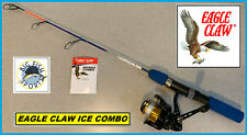 "EAGLE CLAW PATRIOT ICE EAGLE Fishing Rod And Reel Combo 24"" Length FREE USA SHIP"