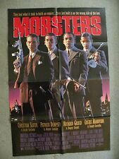 Mobsters Christian Slater, Patrick Dempsey 1991 27X41 originial movie poster