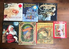 Lot 7 Children's CHRISTMAS Picture Books All THE NIGHT BEFORE CHRISTMAS Theme L2