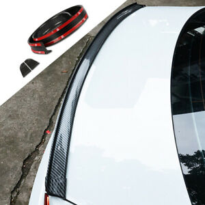 Carbon Fiber Car Rear Window Top Roof Lip Decor Spoiler Wing Trim Mercedes-Benz
