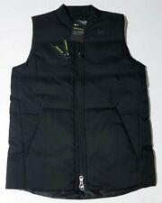 $90 Nike Golf Men's Size Small Reversible Synthetic Fill Vest Black 932303-010