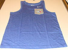 Toronto Blue Jays Baseball MLB Men's Triblend Tank Top Shirt Pocket Large
