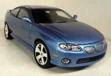 Autoworld 1/18 Scale AMM1025/06 2004 Pontiac GTO Metallic Blue diecast model car