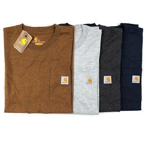 Carhartt Men's T-Shirt Workwear Pocket Basic Heavyweight Jersey Tee