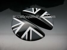 Aluminum Door Emblem Black Union Jack MINI Cooper S for R50 R52 R53 JCW GP ONE
