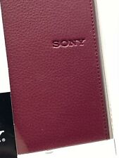 STANDARD COVER FOR TOUCH EDITION SONY READER PRS-600 Brand New In Box Burgundy