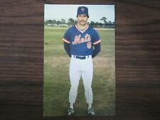 1986 Tcma New York Mets Wally Backman Postcard
