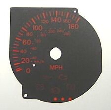 Lockwood Mitsubishi Evolution 7/8/9 BLACK Dial Conversion Kit C035