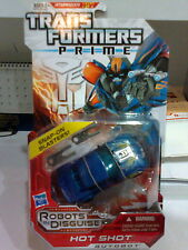 HASBRO TRANSFORMERS PRIME AUTOBOT HOT SHOT DELUXE CLASS