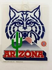 NCAA  Arizona Wildcats Suction Cup Window Sign, NEW