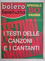 Bolero 1135 Sanremo Nero Bano Pravo Casuals Morandi Goggi Berti Rokes Cinquetti