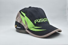 Team Fusion Baseball Cap Hat Car Audio Green, Black, Tan with Embroidered Logo's
