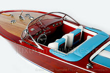 MODEL Riva AQUARAMA 90 CM - Wooden Model Boat High quality