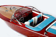 MODEL Riva AQUARAMA 90 CM - Wooden Model Boat High quality