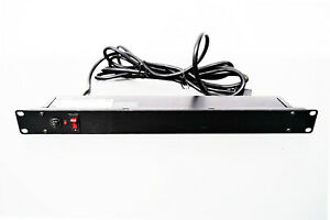 Bud Industries POS-194-S Rackmount 8-Outlet Power Strip 14 Foot Cord Warranty