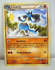 A128 Carte Pokemon Lucario 90 pv Hgss Déchainements 1995