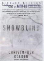 Christopher Golden Snowblind MP3 CD Audio Book Unabridged Ghost Story FASTPOST