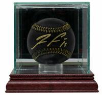 Ronald Acuna Jr. Signed Atlanta Braves MLB Black Leather Baseball w/Case JSA ITP