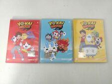 YO-KAY WATCH Lotto 3 DVD OTTIME CONDIZIONI - 14 EPISODI - D2  -