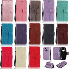 Cat Tree Wallet Leather Flip Case Cover For Nokia Lumia 435 550 630 640 650 950