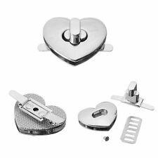 Heart Shape Clasp Turn Lock Twist Lock Metal Hardware For Handbag Bag Nice