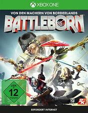 Battleborn mit Erstgeborenen-Paket und Charakterkarten - Microsoft Xbox One NEU