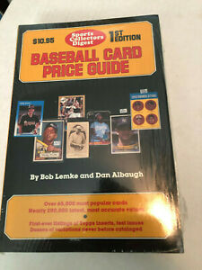 1987 SPORTS COLLECTORS DIGEST 1ST EDITION SEALED BASEBALL CARD PRICE GUIDE RARE