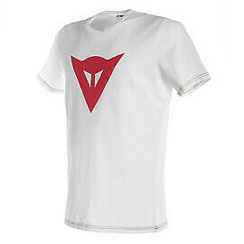 New Dainese Speed Demon T-Shirt Men's L White/Red #201896742-602-L