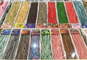 3 Straps 65cm Length - Fruity Favoured Licorice Candy