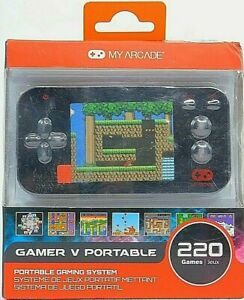 DREAMGEAR MY ARCADE PORTABLE Handheld System - DGUN2573 220 Games Included!
