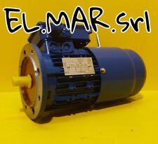 Motore Autofrenante Trifase HP 0,5 Kw 0,37 1400 giri 4 poli mec71 Flangiato B5