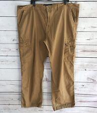 Men's Size 46 X 31 Southpole Khakis Tan Cargo Pants Big & Tall