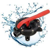 720GPH Hand Manual Diaphragm Boat Marine Bilge Water Transfer Pump Self-priming