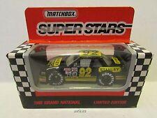 1992 LARRY PEARSON  #92 STANLEY TOOLS CHEVROLET LUMINA BGN NASCAR 1:64