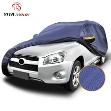 YITAMOTOR Universal Fit Car Cover Waterproof All Weather SUV Protection Blue