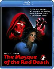 THE MASQUE OF THE RED DEATH (1990) Blu-Ray *Poe SLASHER Gore! Halloween *RARE