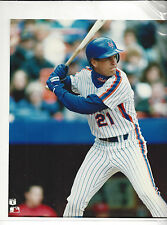 "Keven Elster New York Mets 8X10"" Color Photo"