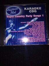 american idol karaoke cdg N0109