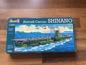 Revell 1/1200 scale Japanese Aircraft Carrier Shinano 05816 Model Kit