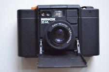 Minox 35 ML 35mm-Kompaktkamera mit Ledertasche und Bedienungsanleitung