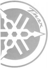 Coppia adesivi laterali allo scudo silver YAMAHA T MAX T-MAX TMAX 500 530
