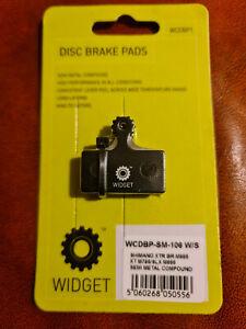 WIDGET BRAKE PADS - SHIMANO XTR BR-M986 - XT M786 - SLX M666 - SEMI METALIC COMP