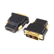Adapter DVI-D (18+1) Single Link Stecker auf HDMI A Buchse (GT3-1024) vergoldet