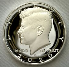 2020 S Proof SILVER Kennedy Half Dollar Coin 50 Cent JFK from US Mint Proof Set
