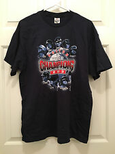 NWT MLB Boston Red Sox 2013 World Series Champions Lineup Blue T-Shirt Large